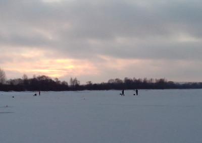 Утро на льду вейны